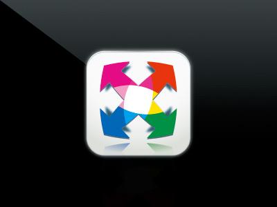 スマートフォン用アプリケーションアイコン